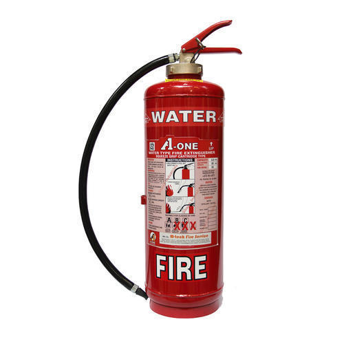 A One Mild Steel Water CO2 Fire Extinguisher Capacity 9 Litres