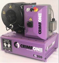 Finn-Power Semi-Automatic Hydraulic Hose Pipe Crimping