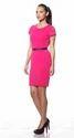 Pink 100% Polyester Van Heusen Stellar Dress