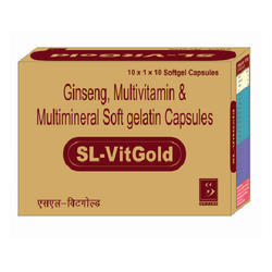 Ginseng and Multimineral Soft Gelatin Capsules