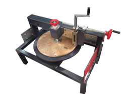 Semi-automatic Mild Steel Round Wood Cutting Machine