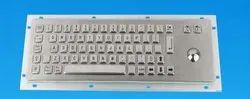 METAL Trackball Keyboard