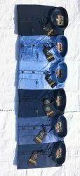 Blue Bond Silky Denim Mens Denim Shirts
