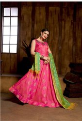 Women Stitched Party Wear Anarkali Gown