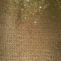 Full Sequin Embroidery on Polyester Fabric (Golden)