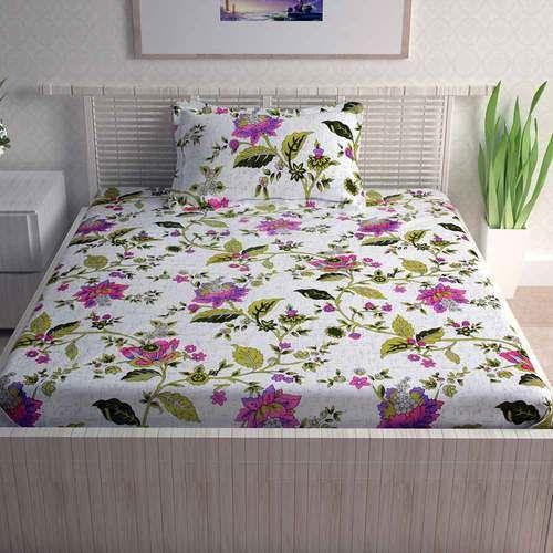 80d8f80135 Divine Casa Pure cotton ctm textile mills - sense series 100% cotton single  bedsheet with