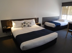 Hotel Satin Stripe Bed Sheet