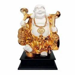 Sitting Laughing Buddha Statue