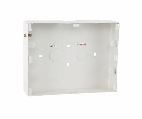 12 Module Surface Metal Box