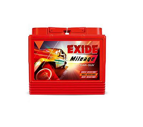 Transpa Exide Mileage Car Battery 35ah 12 5 Volts