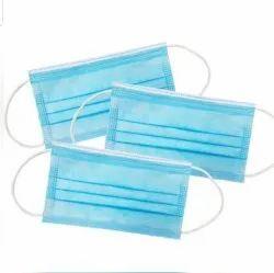 Disposable 3 Ply Non Woven Face Mask