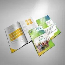 Paper Corporate Brochure Printing