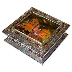 Meena Painted Dry Fruit Box