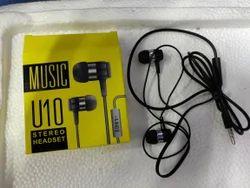 Black Stereo Earphone