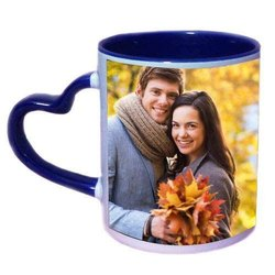 Heart Handle Mug Printing