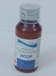 Aceclofenac 50 Mg ,Paracetamol 125 Mg Suspension