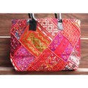 Vintage Embroidery Indian Banjara Shoulder Bag