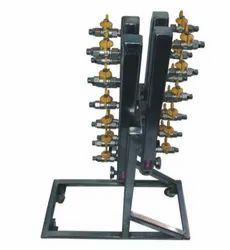 SS 304 Manifold With Stand