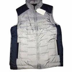 Polyester Casual Wear Men Sleeveless Winter Jacket, Size: S-XXL