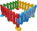 Mebel Plastic Fence Boundary, Size: 64x64x36 Inch, For Pre School Usages