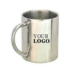Double Wall Steel Mug