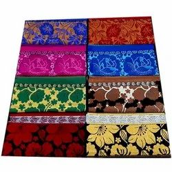 Virag Traders Flower Printed Polyester Towel, 300 Gm, Size: 30 X 60 Cm