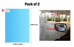 2 PCS Car Rearview Mirror Protective Film, HD Anti-Fog Nano Coating Rainproof Film, Car Anti Water