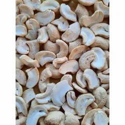 Raw White LWP Split Cashew Nut, Packaging Size: 10 kg