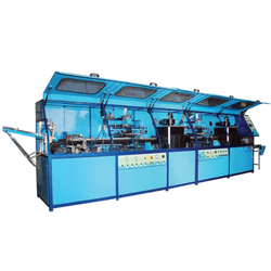Automatic Flat Jerry Can Screen Printing Machine