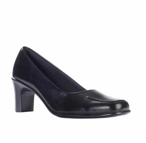 Black Formal Ballerina Shoes (CL-12
