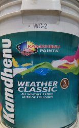 White Matt Kamdhenu Weather Classic Paints 20lit