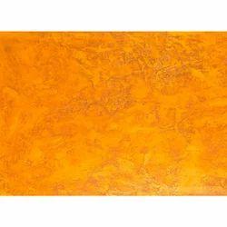Orange Metallic Laminated Board