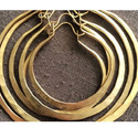 Gold Plated Geometric Statement Women For Necklace