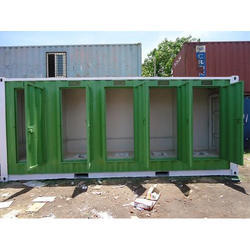 Steel Portable Toilet Container