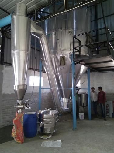 Stainless Steel Milk Powder Spray Dryer Aum Enggiserve