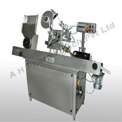 Automatic Slant Ampoule Sticker Labeling Machine