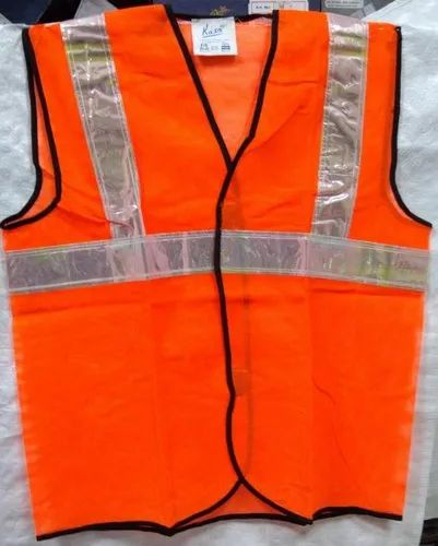 Polyester Without Sleeves Traffic Jacket