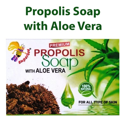 Superbee Propolis Soap With Aloe Vera, Pack Size: 100 Gm