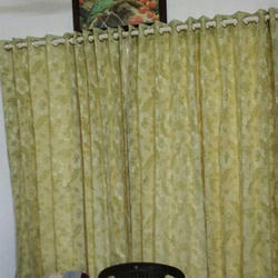 SN Printed Eyelet Curtain, Size: 7 Feet