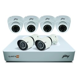 Godrej Plastic Outdoor CCTV, For Residential, 20 to 25 m