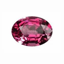 Rhodolite Garnet Faceted Oval Natural Gemstone