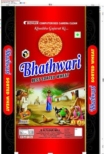 G N FLOUR MILL Indian Bhathwari Best Sortex Wheat, High in Protein