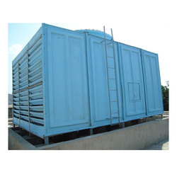 Cross Flow Cooling Tower, Forced Draft Type