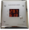 Ace Instruments Clean Room Scanner For Temperature Humidity, Ai-crs2-1a