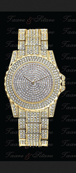 Golden Diamond Watch