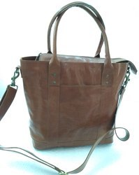 Designer Leather Tote Bag