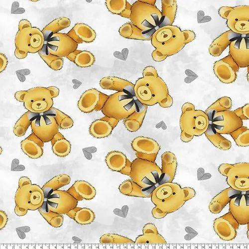 77c249b6780a9 Teddy Bear Nursery Print Fabric