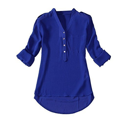 0e6c2570781f Royal Blue Plain Ladies Casual Shirt, Rs 200 /piece, Nishuva Exports ...