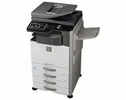 SHARP AR-6026NV Xerox Machine, Input Tray Capacity: 1100, Memory Size: 320 Mb