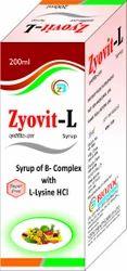 L-Lysine, Multivitamin, Niacinamide Syrup